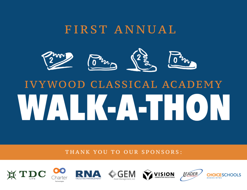 First Annual Ivywood Classical Academy Walk-A-Thon